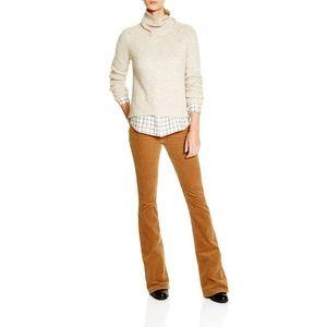 PAIGE Women's Natural Paige Bay Turtleneck size M